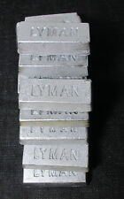 14 lbs Hard lead antimony approx 1/2 pound ingots bullets shot casting