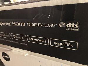 Samsung - Sound+ 2.0-Channel Hi-Res Soundbar with Wi-Fi Music Streaming - Black