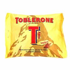 TOBLERONE Tiny Swiss Milk Chocolate Bar Bites with Honey and Almond Nougat 200g