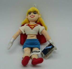 "SUPERGIRL 9"" Beanbag Warner Bros Studio Store WB DC w/mint tag NEW SUPERMAN"