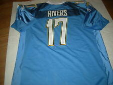 Phillip Rivers San Diego Chargers 1960s LITE BLUE sz52  ONFIELD Jersey,GR8 GIFT