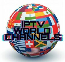 IPTV SUBSCRIPTION 12MONTHS GIFT WORLDWIDE 6000+CHANNELS+VOD+ADULT+WORLDSPORTS CH