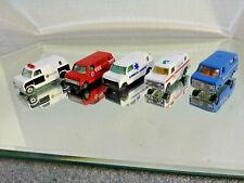 (5) Yat Ming 1070's Van #1501 Variations Emergency Vehicles Lots