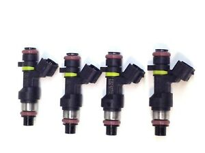 SET OF 4 JECS FUEL INJECTORS FBY2850 FITS 2007-20010 NISSAN 1.8L 2.0L L4