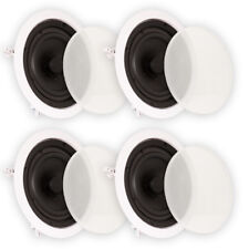 """Theater Solutions TS65C In Ceiling 6.5"""" Speakers Home Theater 2 Pair Pack"""