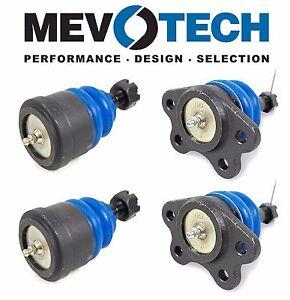 For Chevrolet GMC C1500 C2500 88-92 Front Upper & Lower Ball Joint KIT Mevotech