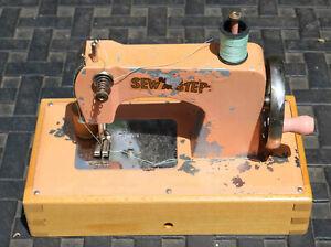 Vintage 1940s German-made KayanEE Sew Master Child's Sewing Machine w/Orig. Box