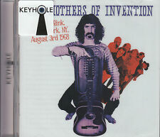 MOTHERS OF INVENTION wollman rink, central park, ny august 3rd 1968 CD NEU OVP