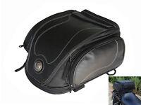 Erweiterbar Benutzerdefiniert Heck Tasche für Harley Davidson & Cruiser Motorrad