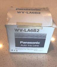 Panasonic WV-LA6B2 Auto Iris Lens 12mm NEW In Box, Old Stock - FREE US Shipping!