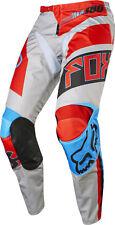 Pantalone moto Cross Fox 180 Mod Falcon 2017 Grigio Rosso Tg 30/46