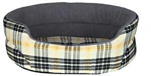 Trixie Dog Bed Lucky, Beige/Grey, Dog Sofa Dog Basket Dog Cushion