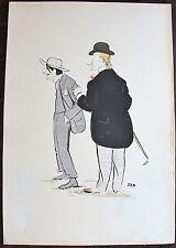 SEM, LITHOGRAPHIE ORIGINALE, JEAN LOUIS FORAIN, CARAN D'ACHE (Paris Opera. 1901)