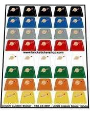 Replica Pre-Cut Stickers for Lego® Classic Space Minifig Torsos