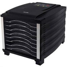 BioChef Arizona 8 Tray Food Dehydrator with Stainless Steel Trays in Black