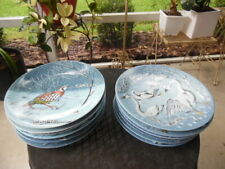 Haviland Limoges Complete Set of 12 Days of Christmas Plates 1970-1981 w Extra'S