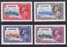 Barbados 1935 SC 186-189 MH Set Silver Jubilee