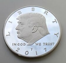 Donald Trump Silver Coin United States of America Novelty Washington New York UK