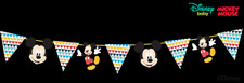 Disney Mickey Mouse 2m Long Card & Ribbon Garland for a Party
