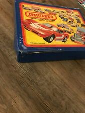 VINTAGE MATCHBOX OFFICIAL COLLECTOR CASE FOR 48 CARS 1980 with 43 cars