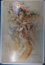 "Gary Benfield Signed ""Tenderness"" Limited Edition Serigraph w/ LOA"