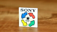 Sony Corporation Old Computer Vintage Collectible Rare Promo Pin / Badge