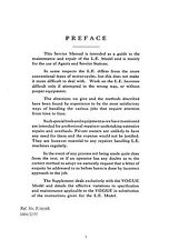 (1409) Velocette L.E.Mark III and Vogue service manual