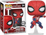 Exclusive Spider-Man Swinging Funko Pop Vinyl New in Mint Box