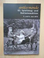 und Reklameauktion Auktionskatalog Antico Mondo Köln Spielzeug 53