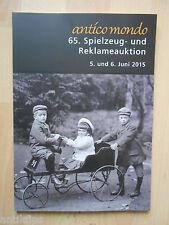 65. Spielzeug- und Reklameauktion Auktionskatalog Antico Mondo Köln