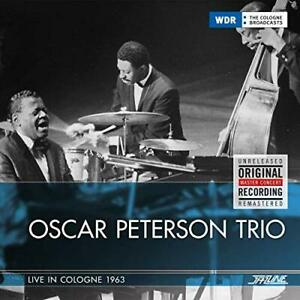 `Oscar Peterson Trio-Live In Cologne, 1963` (US IMPORT) CD NEW