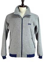 PATAGONIA Sweater Size MEDIUM M Grey Full Front Zip USA