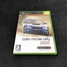 xBox Colin Mcrae Rally 2005 FRA CD état neuf
