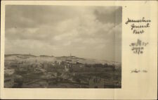Jerusalem Real Photo Postcard - Used Stamps Cancel Airmail