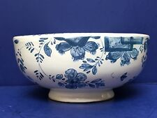Mottahedeh Vintage Blue & White Metropolitan Museum Of Art Flower Frog -Portugal