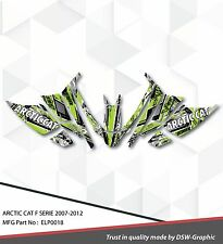 SLED GRAPHIC KIT DECAL WRAP FOR ARCTIC CAT Z1 F8 F6 F5 F SERIES 07-2012 ELP0018