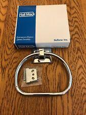 Vintage Hall Mack 686 Coronado Polished Chrome Towel Ring Nos Nib