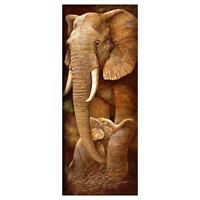 Full Drill Elephants 5D Diamond Painting Embroidery Cross Crafts Stitch Mosaic