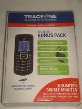 SAMSUNG T105G TRACFONE CELLULAR PHONE BONUS PACK OPEN BOX