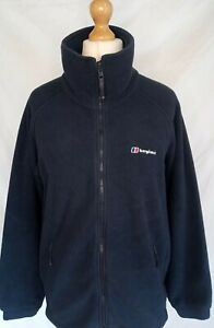 BERGHAUS THICK FLEECE JACKET LARGE MENS GOOD CONDITION