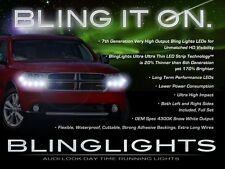 BlingLights LED DRL Head Light Strips Daytime Running Lamps for Dodge Durango