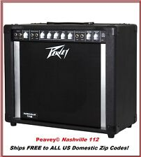 "Peavey Nashville 112 80W 1x12"" Steel Guitar Amp Ships FREE to ALL US Zip Codes"