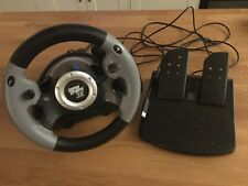 Datel Super Sports 3X Driving Game Steering Wheel And Pedals PS3 PC XBOX 360