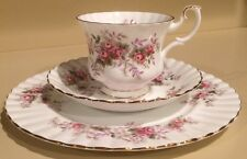 Royal Albert Lavender Rose Trio - Tea Cup Saucer and Plate