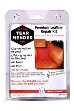 Tear Mender Premium Leather Repair Kit Patches Color Refinish Compound Home Sofa