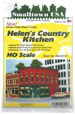 HO Scale Smalltown USA 699-6012 Helen's Country Kitchen Building Kit
