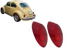 62 -67 VW BUG BEETLE Rear Tail Light LENSES left right PAIR 2 pcs EMPI 98-1075