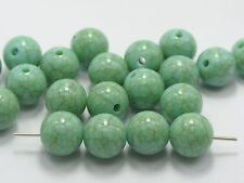 "50 Blue Imitation Turquoise Gemstone Acrylic Round Beads 12mm(1/2"")"