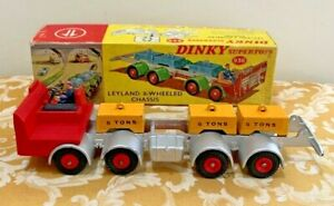 Dinky SuperToys No. 936 Leyland 8-WHEELED CHASSIS Near-Mint in Original Box!