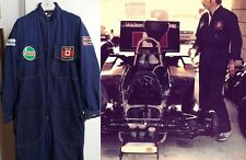 Race pit crew suit 1977 Walter Wolf Racing F1 Jody Scheckter
